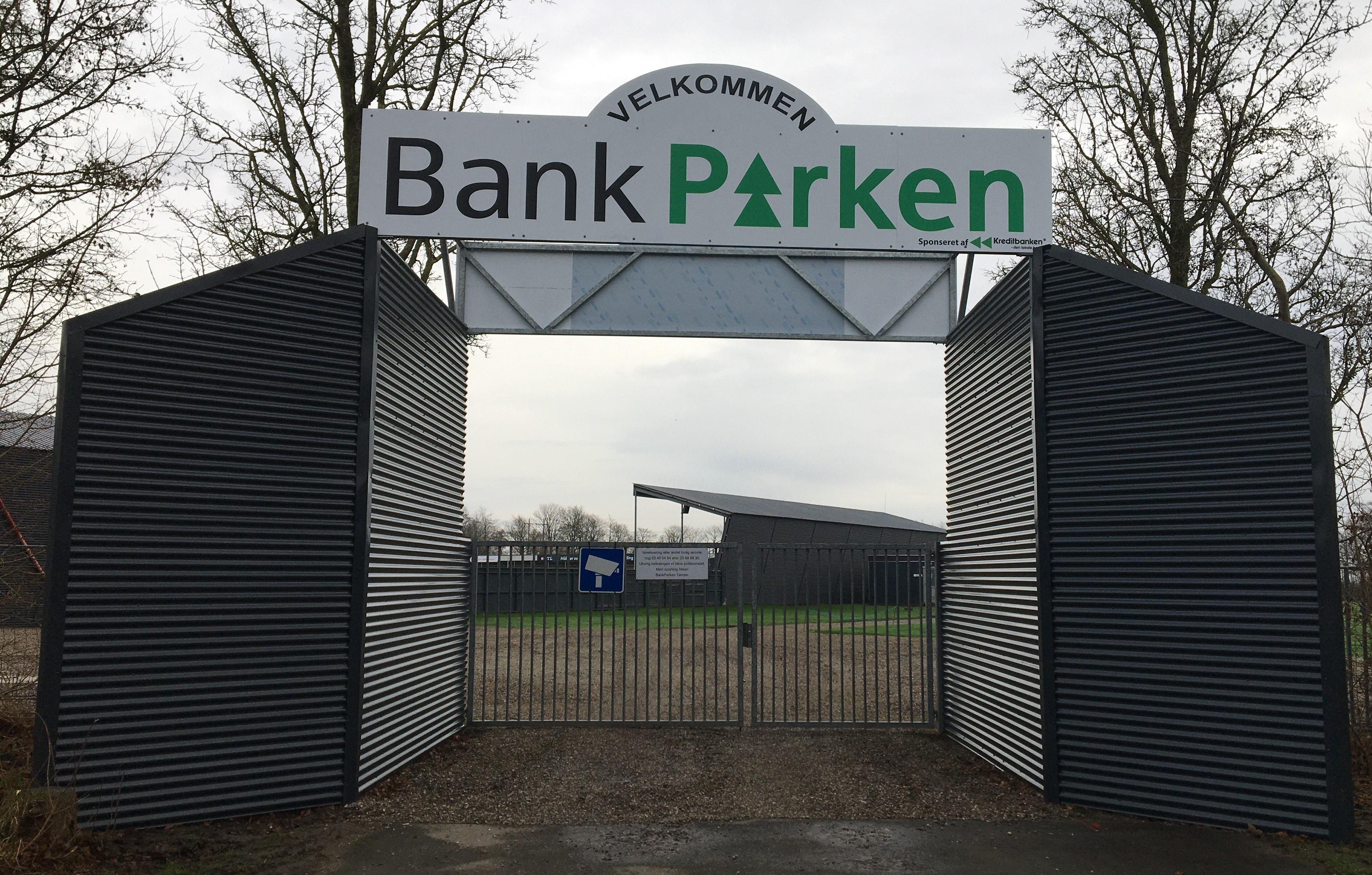 BankParken's nye hovedindgang færdig